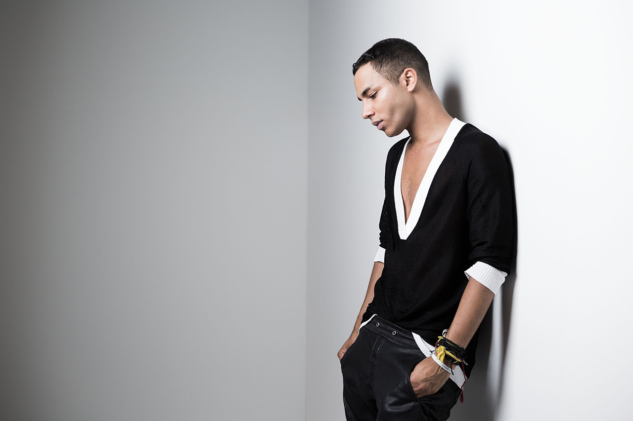 Fashion Picture: Olivier Rousteing Creative Director BALMAIN About